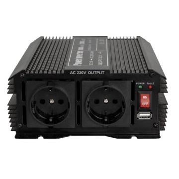 TecTake® Spannungswandler Wechselrichter Inverter 12 V auf 230 V 1000W 2000W -