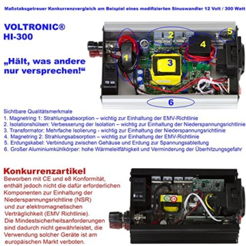 voltronic modifizierter sinus spannungswandler 12v auf. Black Bedroom Furniture Sets. Home Design Ideas