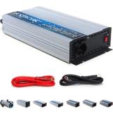 VOLTRONIC® modifizierter Sinus Spannungswandler 12V auf 230V, Stromwandler in 7 Varianten: 200 - 3000 Watt, Wechselrichter mit e8 Norm -